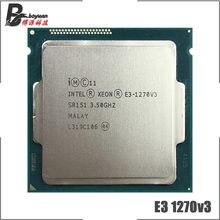 Intel Xeon E3-1270 v3 E3 1270 v3 E3 1270v3 3,5 GHz Quad-Core ocho-Hilo de procesador de CPU L2 = 1M L3 = 8M 80W LGA 1150