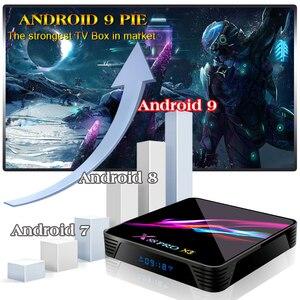 Image 4 - Четырехъядерный процессор Rockchip S905X3 X88 Pro X3, Android 9,0, 64 бита