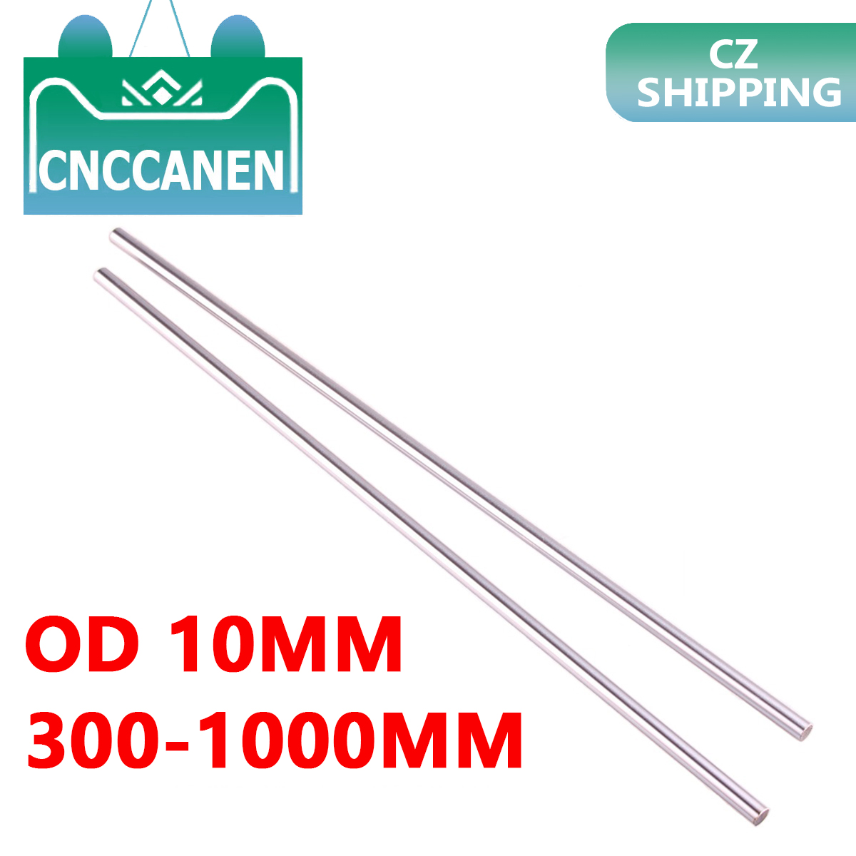8mm O.D Hardened Rod Pre-cut length 1000mm 3D printer CNC
