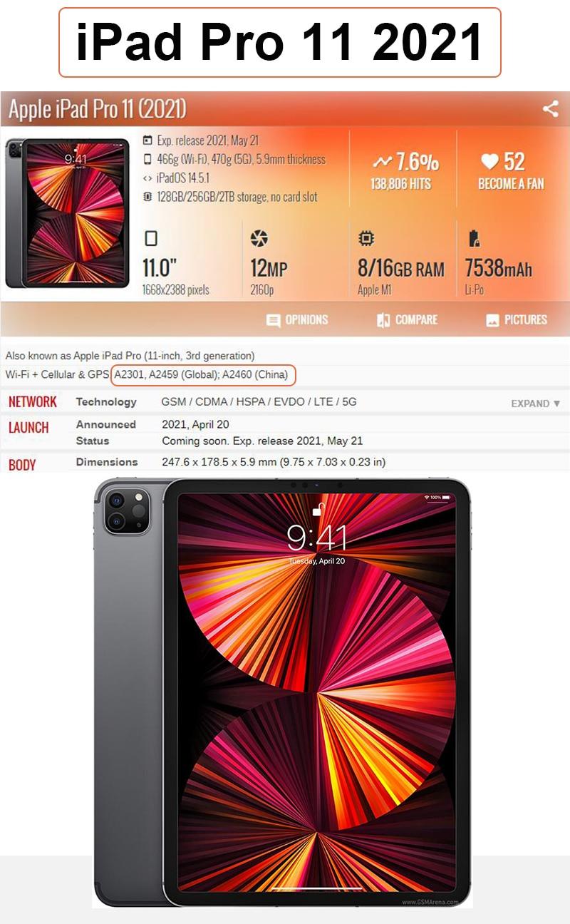 A2301 iPad Leather Case 11 iPad Apple PU Cover Sleeve For A2460 11 Funda iPad Stand 2021 Case case Tri-fold A2459 Pro Tablet