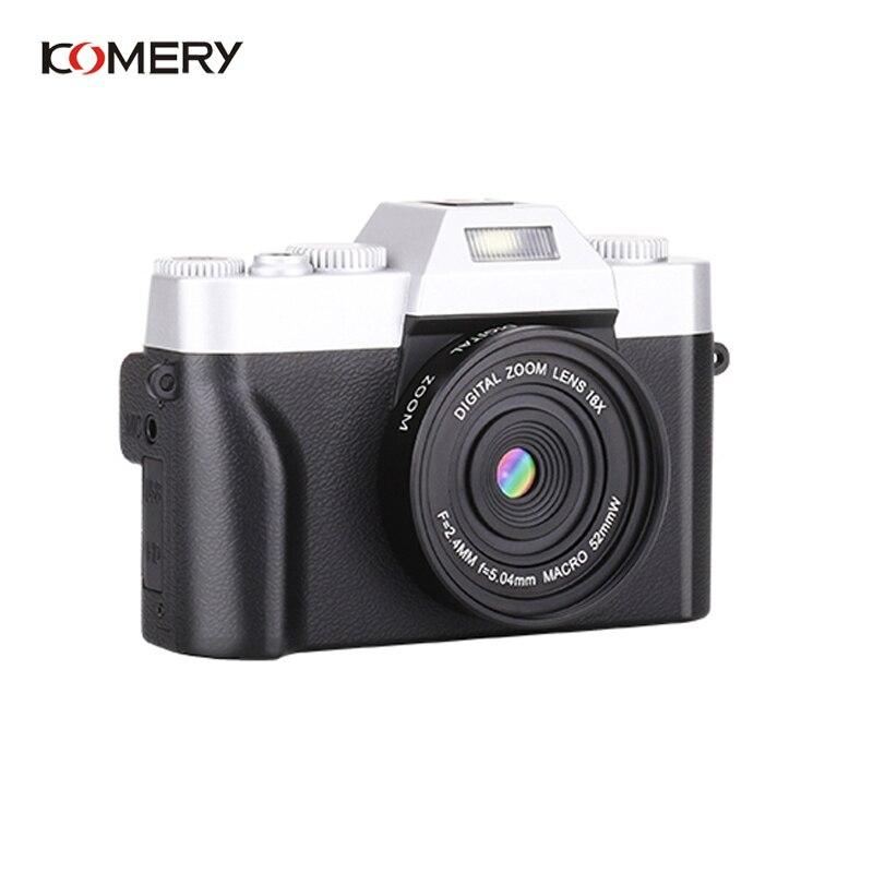 KOMERY Professionelle Digitale Kamera 3,0 Inch LCD Flip Screen 4K Video Kamera 16X Digital Zoom HD Ausgang Unterstützung WiFi selfie Cam - 2