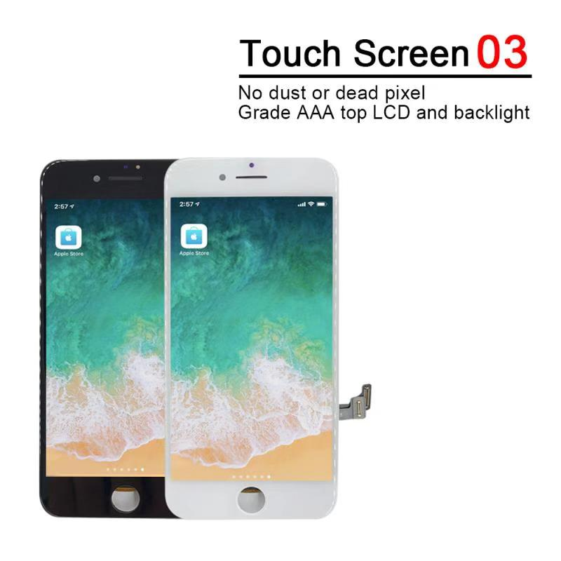 Perfect Quality AAA For iPhone 7 LCD 4 7 inch Screen Diaplay 100 No Dead Perfect Quality AAA+++ For iPhone 7 LCD 4.7 inch Screen Diaplay 100% No Dead Pixel Pantalla For iPhone 6 6S 7 8 LCD with Gifts