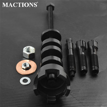 """Motorcycle Black Metal Wheel Bearing Remover Installer Puller Tool For Harley 2000 Up Touring Road King Dyna 3/4"""" 25mm Pullers"""