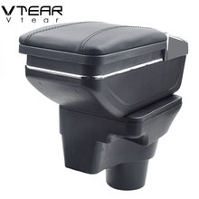 Cup-Holder Armrest Box X-Line Vtear Kia Rio Ashtray Central-Store-Content-Box Interior-Car-Styling-Accessories