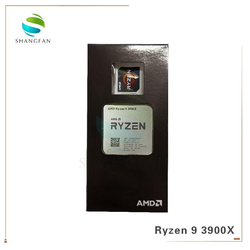 New AMD Ryzen 9 3900X R9 3900X 3.8 GHz Twelve-Core 24-Thread CPU Processor 7NM L3=64M 100-000000023 Socket AM4