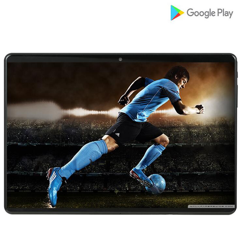 6000mAH MT6753 10.1' Tablets Android 9.0 8 Core 6GB + 64GB 128GB ROM 5MP Dual SIM Tablet PC Wifi Mirco Usb GPS Bluetooth Phone