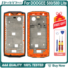 High quality New Original Front Frame For DOOGEE S80/S80 Lite Front Housing Cover Case Repair Replacement Accessories Parts
