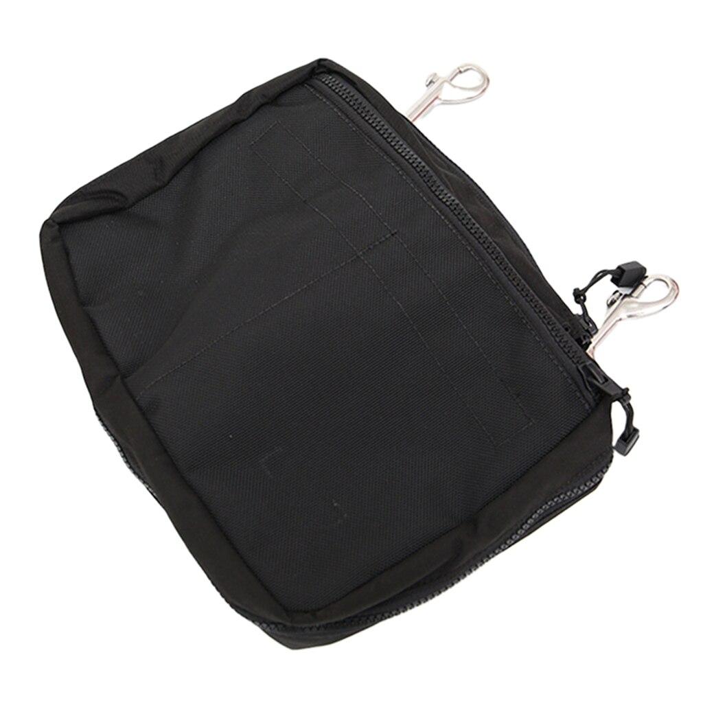 Diving Gear Bag Zip Pocket Dive Reel SMB Drifting Hook Pouch Pack