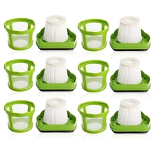 цена на 6Pcs Filter Pet Handheld Vacuum Filter for Bissell 1782 Car Vacuum Cleaner Replacement Parts 1608653