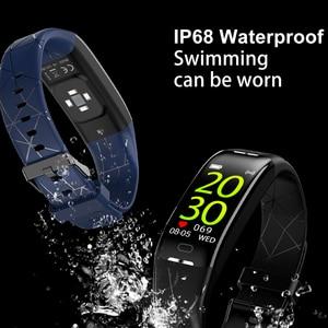 Image 4 - Eyefun smart watch es smartband דם לחץ smart watch דם לחץ חמצן קצב לב smart watch es אנדרואיד שעון 0.96 ips
