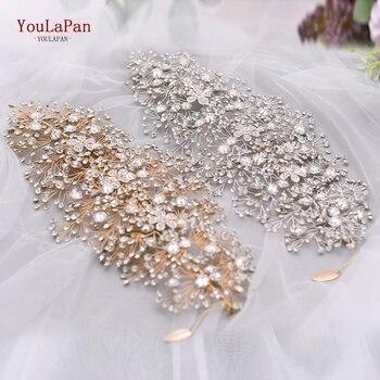 Crystal Wedding Hair Jewellery Bridal Fascinator and Rhinestone Wedding Tiara