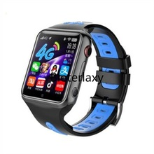 4G GPS Wifi SOS akıllı saat IP67 su geçirmez kamera Video çağrı monitör Tracker çocuklar Smartwatch erkek kız Whatsapp Google Play