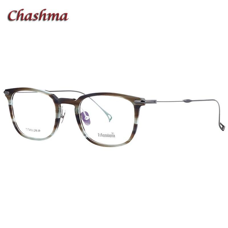 Acetate Frame Titanium Temple Eyewear Men Progressive Frames Women Opitcal Eyewear Myopia Spectacle