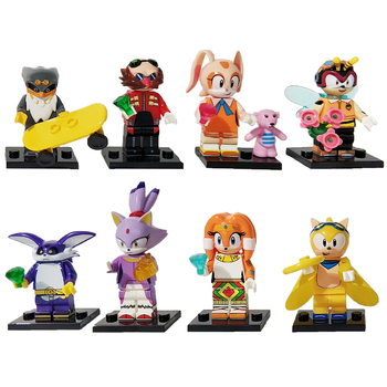 Sonics Building Blocks Egg Man Super Series Sonics Block The Hedgehog Shadow Tails Characters Action Figures Childrens Toys Gift understanding change in the workplace super series fifth edition super series super series