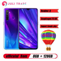 Original Oppo Realme Q Mobile Phone Snapdragon 712 AIE 4305mah 6.3 Full Screen Android 9.0 8GB RAM 128B ROM 48.0MP Fingerprint