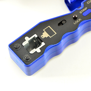 Image 4 - HY 670 8P8C RJ45 Cable Crimper Ethernet Perforated Connector Crimping Tools Multi Function Network Tools Cable Clamps