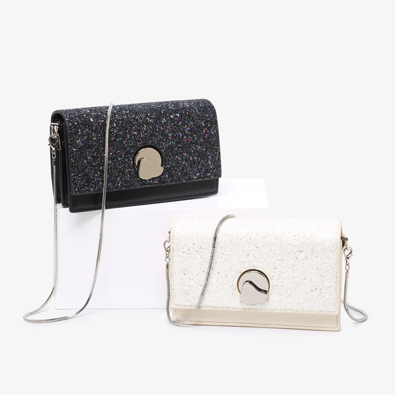 luxury handbags women bags designer Sequin chain women's bag 2020 new summer fashion shoulder shoulder small square bag