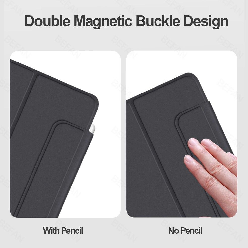 ar 4 109 capa magnetica bluetooth touchpad teclado casos 03