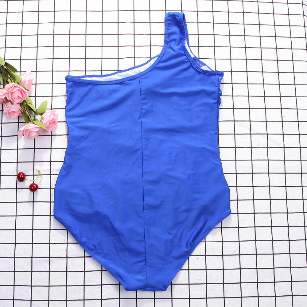 대형 4xl 섹시한 여성 원피스 수영복 메쉬 비키니 Monokini 푸시 업 수영복 수영복 수영복 비치웨어