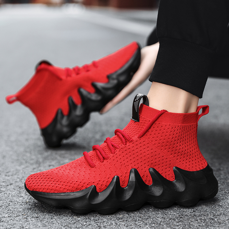 Shoes Men Sneakers Light Mesh Walking Shoes Breathable Soft Athletic Trainers Male 2021 Summer New Outdoor Sport Casual Footwear