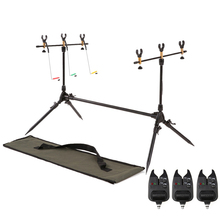 Lixada Fishing Rods Holder Carp Fish Rods Stand Adjustable Retractable Fishing Pole Pod Stand Tackle Accessory Bracket For Pesca