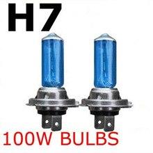 H7 100w 12v Xenon Gas Halogen Headlight White Car Light Lamp Bulbs High Power Car Headlights Lamp Car Light Source Parking