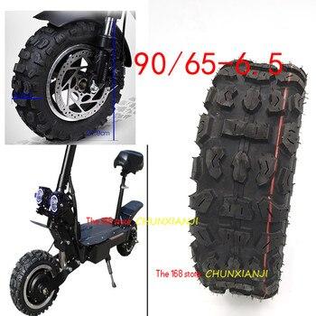 Dualtron-neumático sin cámara para patinete eléctrico, ultraligero, de bolsillo, todoterreno, 90/65-6,5