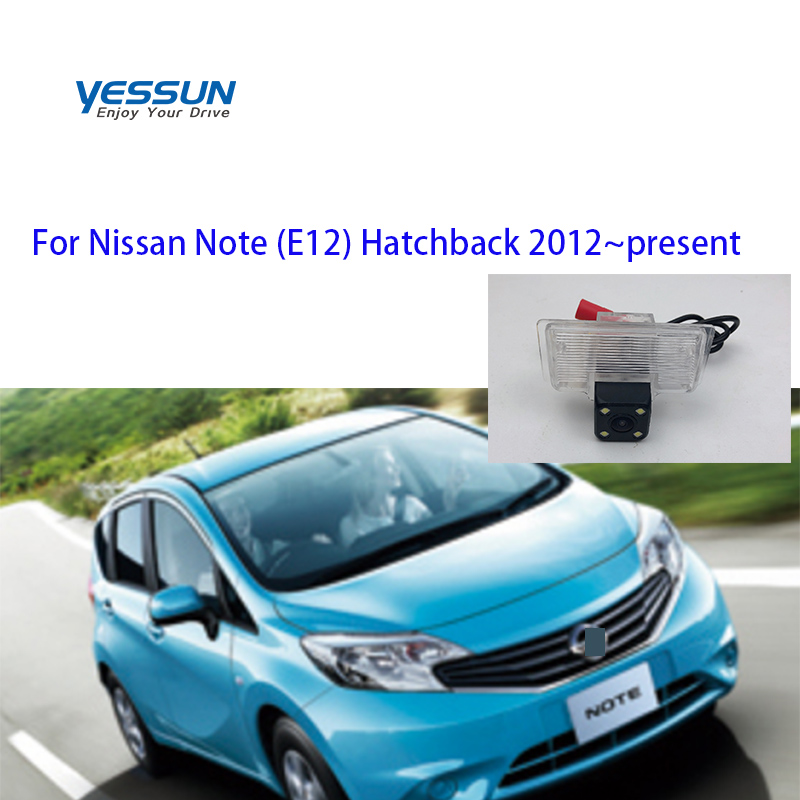 Yessun For Nissan Note E12 Hatchback 2012~2019 Car CCD LED Backup Reverse Rear View Camera Car Parking Monitor