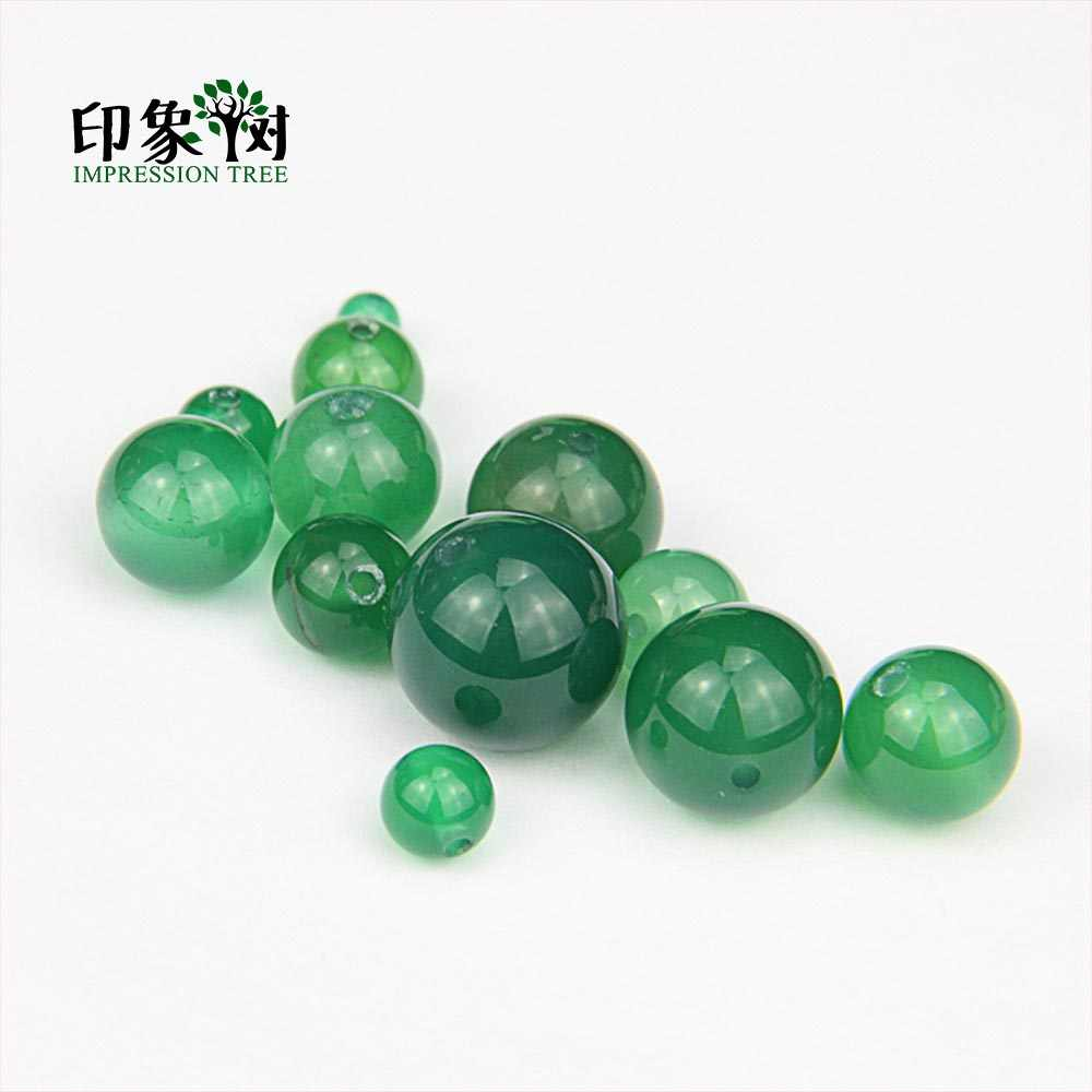 เลือกขนาด 4,6,8,10, 12,14 มม.1 ชิ้นอัญมณีสีเขียว Agates ลูกปัด Agates Druzy ลูกปัด DIY เครื่องประดับทำ 2002