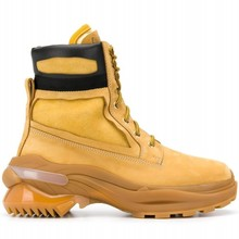 Design Brand New Mens Personality Genuine Leather Boots High Top