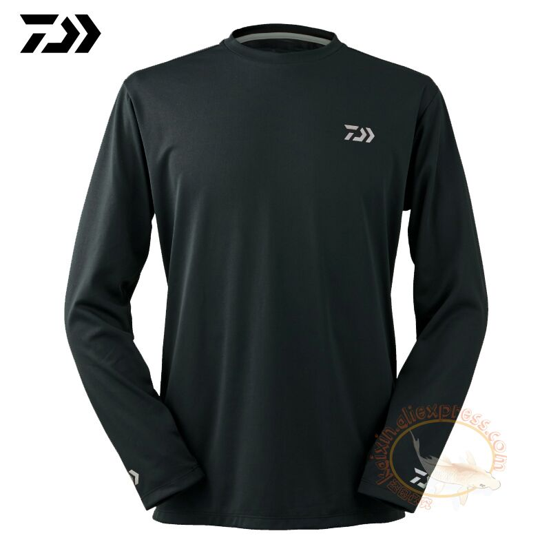 2020 Daiwa Fishing Clothing Long Sleeve XS-5XL Fishing Shirts Summer Quick-Drying Breathable Anti-UV Sun Protection T Shirt
