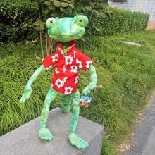 24 inch Rango doll cartoon chameleon lizard plush toy raygo funny
