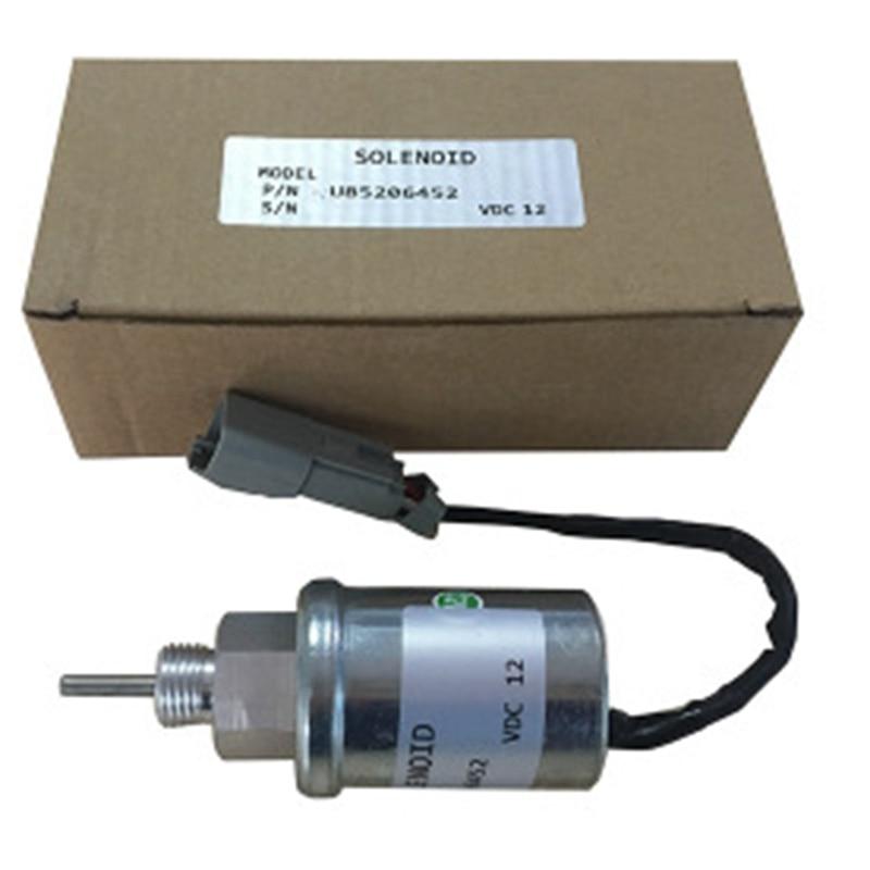 U85206451 12V Stop Solenoid For Perkins 402D 403D 404D 404C 403C U85206452,U85206450,185206452,185206450,185206192