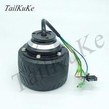 24V Electric Skateboard Wheel Hub Motor 70mm Diameter Outer Rotor Brushless Motor