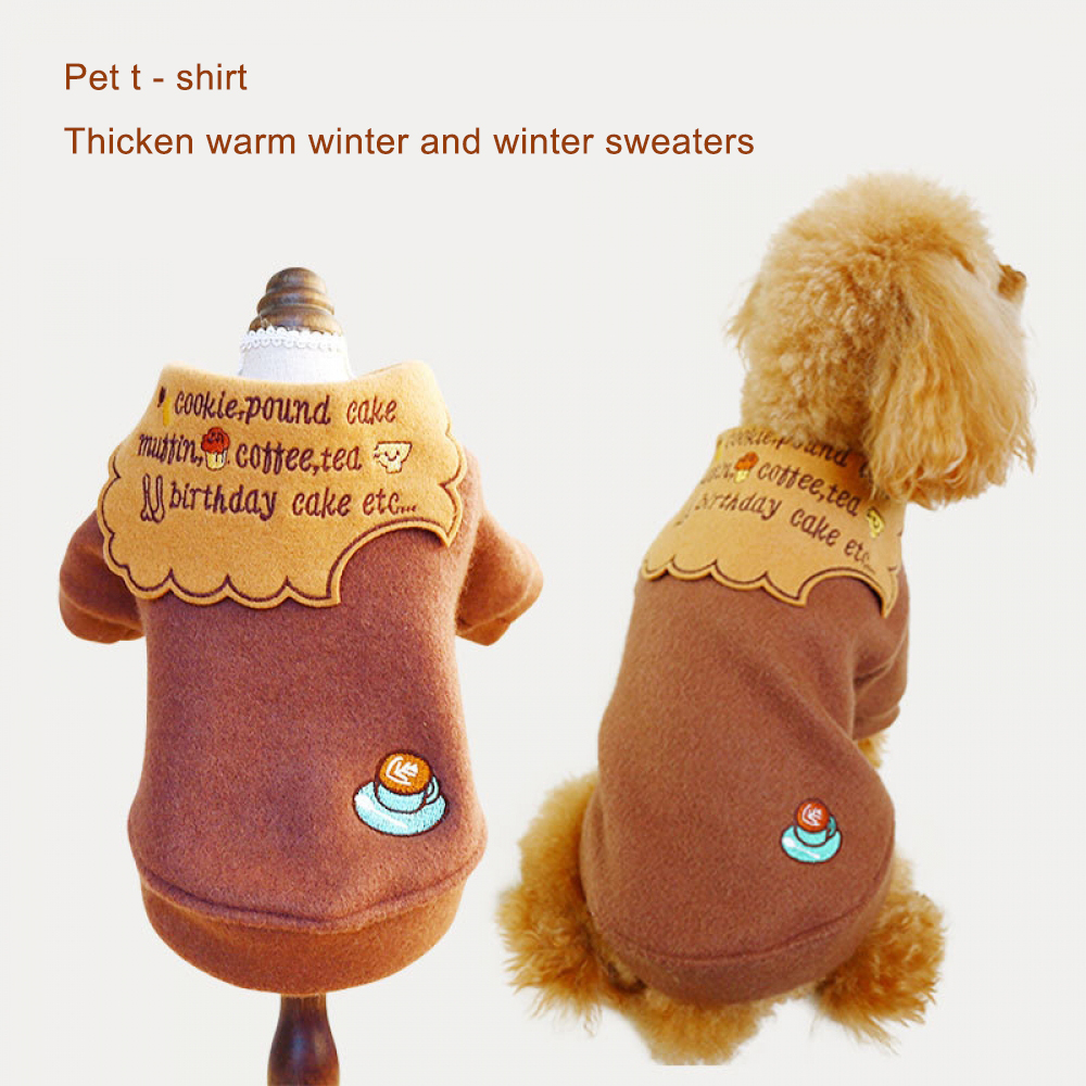 Dog Clothes For Small Dogs Soft Pet Dog Sweater Clothing For Dog Winter Chihuahua Clothes Classic Pet Outfit Ropa Perro 5