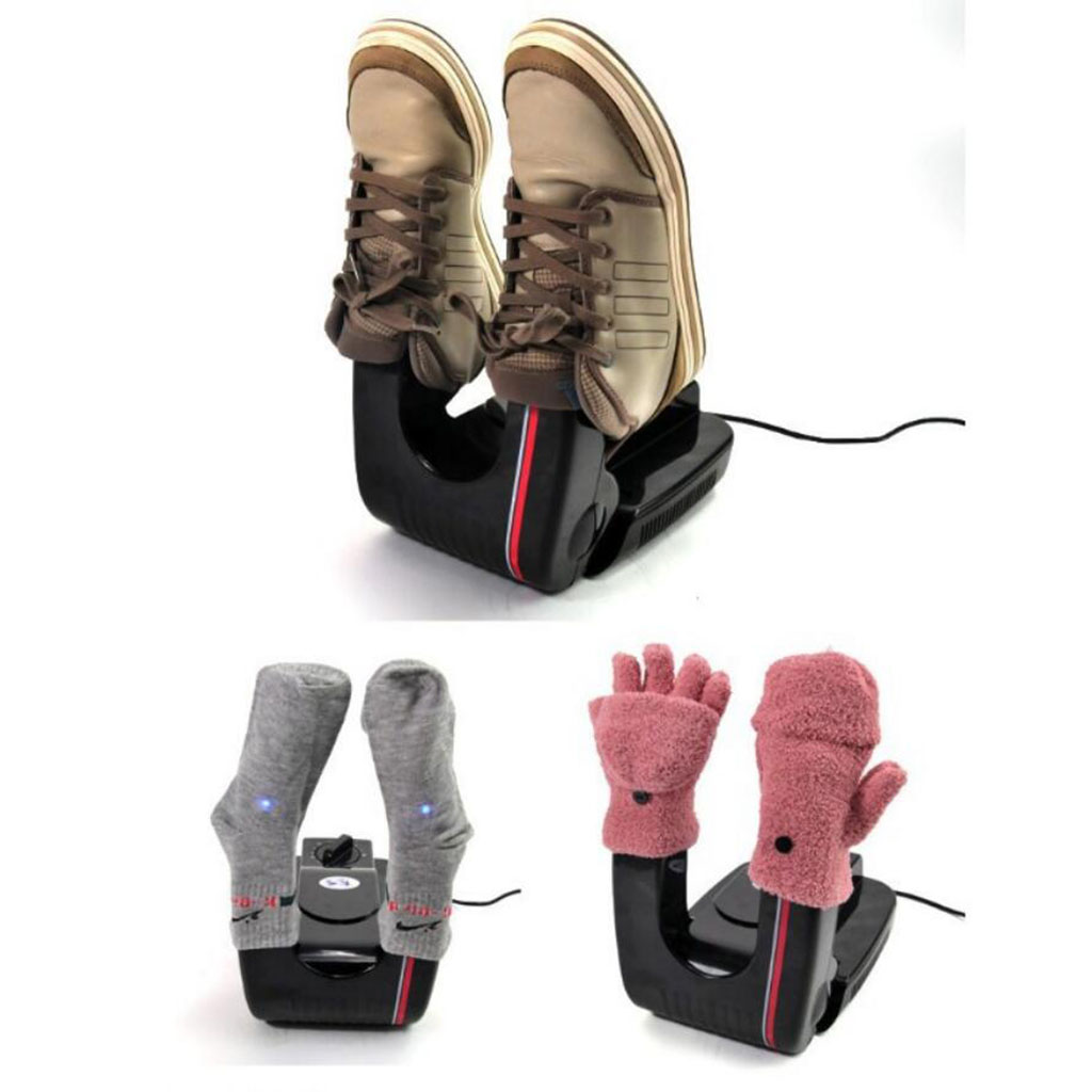 Electric Shoe Boots Dryer Warmer Machine Socks Gloves Dryer Europlug
