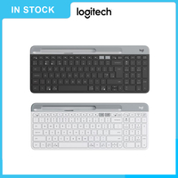 YOUPIN K580 2.4G Wireless Ultra thin Office Keyboard Unifying Bluetooth Dual Mode Computer Peripheral Accessories