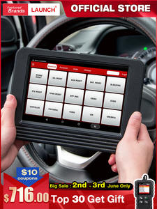 LAUNCH Code-Reader-Scanner Diagnostic-Tool DPF Car-Full-System OBD2 Wifi Bluetooth X431-V