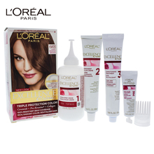 LOreal Paris Excellence Creme Pro - Keratine # 6RB Light Reddish Brown - Warmer by for Unisex - 1 Application Hair Color