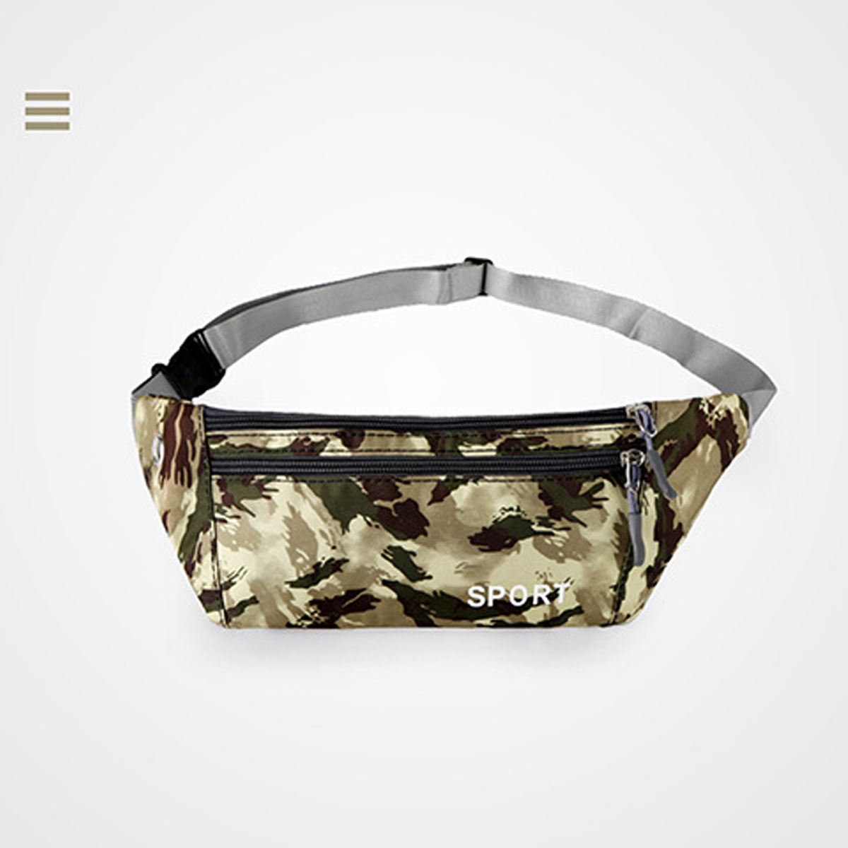 Camouflage Waist Pack Waterproof Belt Hip Bum Military Bag Pouch Running  Pockets Mountaineering Mobile Phone Bag Waist Packs