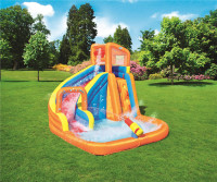 3 12 Kids PVC nflatable Water Slide Pool Outdoor Swimming Pool Bouncer Slide Bouncer Castle Waterslides Park Funcity