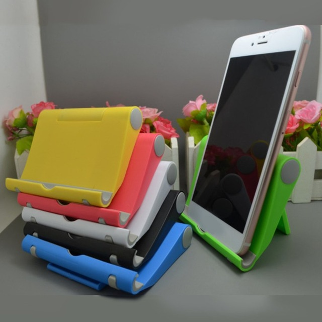 Folding Tablet Phone Holder Cradle Adjustable Desktop Mount Tripod Stand Holder Support for iPad Pad Table Universal Stabilizer