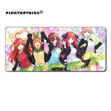 Anime Mousepad The Quintessential Quintuplets anime Mouse Pad Asada Shino playmat Game Mat