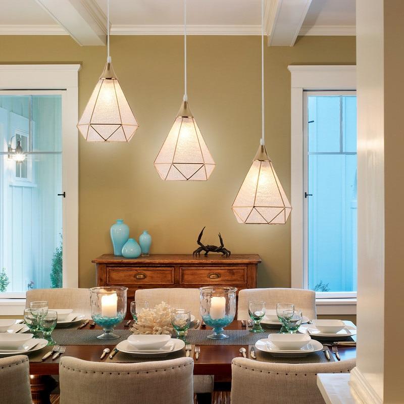 E27  Chandeliers European Room Restaurant Creative Personality Modern Minimalist Aisle Corridor Porch Lamp LED Lights
