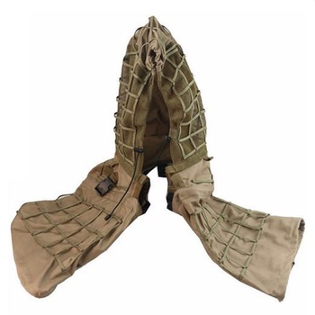New Tactical CS Training Hunting Clothes With Yarn Sniper Camouflage Mesh Ghillie Suits Foundation Outdoor Shooting Jacket Sets 5