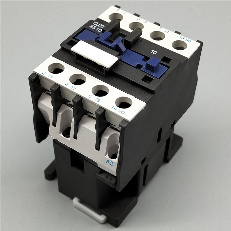 AC Contactor <font><b>CJX2</b></font>-<font><b>2510</b></font> 25A switches LC1 AC contactor voltage 380V 220V 110V 48V 36V 24V 12V Use with float switch image
