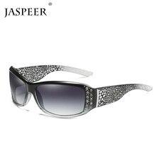 JASPEER Polarized Sunglasses Men Fashion Women Sun Glasses Vintage Original Square Style For UV400 очки