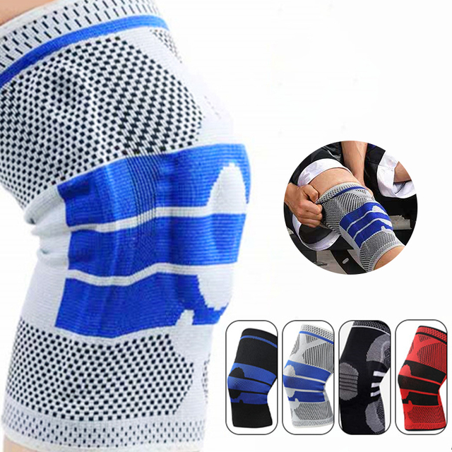 1pcs Full Knee Brace Strap Patella Medial Support Strong Meniscus Compression Protection Sport Pads Running Basket Health Care
