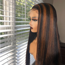 Piano Color 13*6 Deep Part Lace Front Human Hair Wig Pre Plu