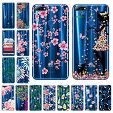 Silicon Soft TPU Case For Huawei Honor 7c Pro Case Transparent Clear Cover For Huawei Nova 2 Lite Y7 2018 Covers Back silicon phone cases for huawei honor 7c pro case soft cover for huawei y7 prime pro 2018 nova 2 lite case transparent tpu 5 99